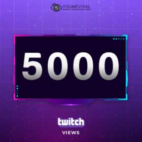 Buy 5000 Twitch Channel Views Cheap