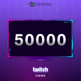 Buy 50000 Twitch Channel Views Cheap