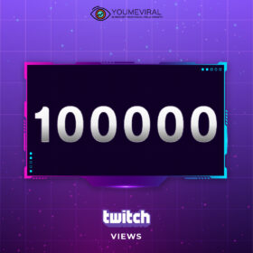 Buy 100000 Twitch Channel Views Cheap
