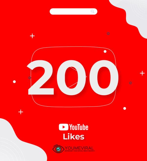 buy 200 YouTube Likes Cheap