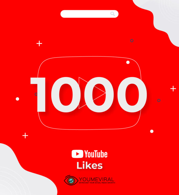buy 1000 YouTube Likes Cheap