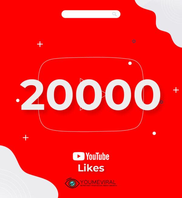 buy 20000 YouTube Likes Cheap