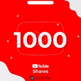 Buy 1000 YouTube Shares Cheap