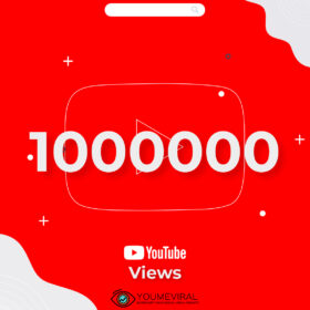 Buy 1000000(1M) YouTube Views Cheap